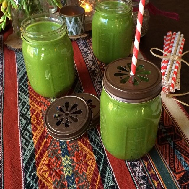 Green smoothies rock!