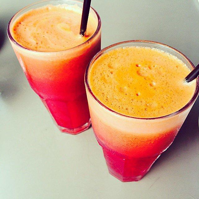 Fresh juice rocks!