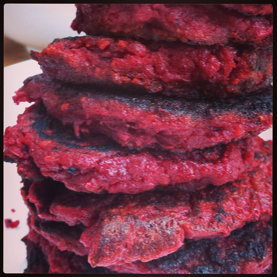 Nourish Me Beetroot Burgers
