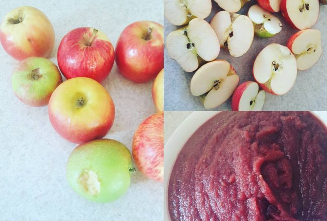 Beautiful imperfect Apples
