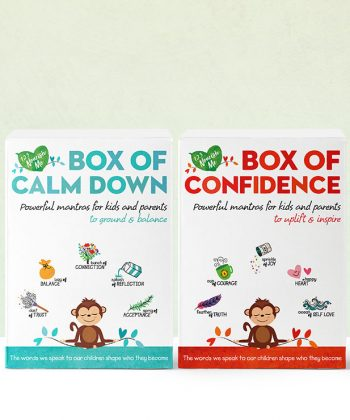 Box of Calm Down and Confidence