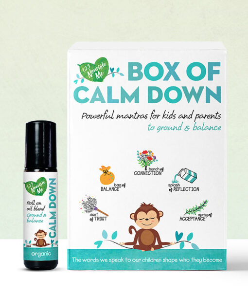 Box of Calm and Calm down Oil